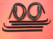 1980-1986 Ford Truck & Bronco Door Window Sweep & Felt Kit! Left & Right