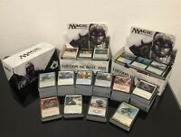 Cartes Magic the gathering tout bloc Anglais Lot 100  peu commune & commune,rare