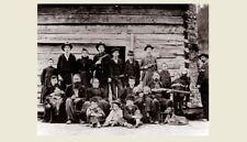 1897 Hatfield Family PHOTO Hatfield McCoy Feud Clan, Devil Anse Family Photo