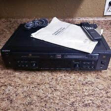 Sony Mxd-D3 Minidisc Cd Player Recorder W/Remote Manual Nice! Tested