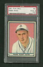 1941 PLAY BALL #41-FRANK HAYES-PSA MINT 9 (OC)