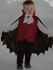 Costume VAMPIRE Déguisement Enfant Garçon Taille 92-104cm