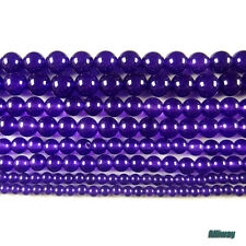 """multi color malaysian jade loose beads 4mm 6mm 8mm 10mm round stone 15.5"""""""