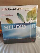 Sealed  Box Adobe Creative Suite CS2 Premium Web Bundle Macromedia Studio 8 Mac