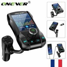 ONEVER Bluetooth Voiture Transmetteur FM MP3 Sans fil USB Chargeur Mains Libre