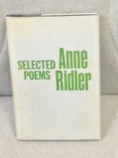 Anne RIDLER / SELECTED POEMS First Edition 1961