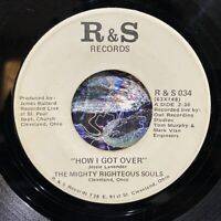 """ohio gospel soul funk 7"""" MIGHTY RIGHTEOUS SOULS How I Got Over ♫ Mp3 R & S"""