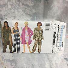 Butterick 6890 Robe shirt camisole pants shorts UNCUT sewing Pattern  22W-26W