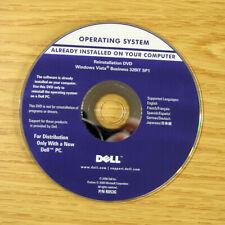 Genuine Dell Reinstallation DVD Windows Vista Business 32Bit R053G / 0J229H