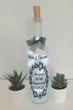LED Star Light Up Bottles Gift For a Wedding Anniversary