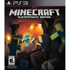 Minecraft For PlayStation 3 PS3 Very Good 9E