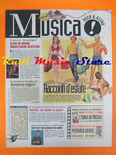 rivista MUSICA! REPUBBLICA 66/1996 Alice in Chains Tom Petty Lenny Bruce No*cd