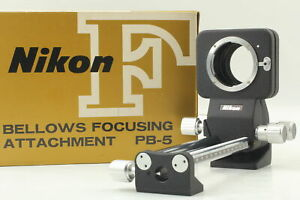 [Almost Unused in Box] Nikon Bellows Focusing Attachment PB-5 From JAPAN