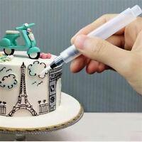 Icing Pen Cake Decorating Tools Nozzles Set Piping Cream Syringe Tips Dessert AL