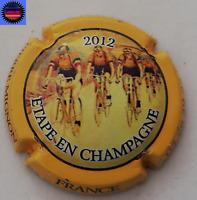 Capsule de Champagne PIERRE MIGNON Le Tour de France 2012 Contour Jaune n°79 !!