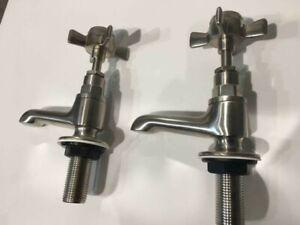 St. James collection Basin tap set SJ151- brushed nickel
