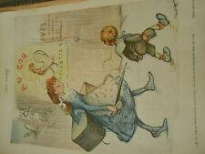 Elle a des toiles d'araignée sous les bras la patronne Dessin Poulbot Print