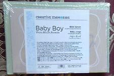 RARE CREATIVE MEMORIES BABY BOY PHOTO ALBUM ACCENTS BNIP