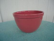 vintage fowler ware australian pottery  mixing bowl large 20cm rose pink