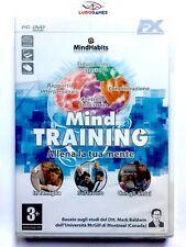 Mind Training PC Nuevo Precintado Videojuego Videogame Sealed Brand New ITA