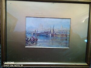Painting or Print of a maritime scene