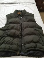 St. John's Bay jackets & coats~Men's vest jacket~ color-Dark green