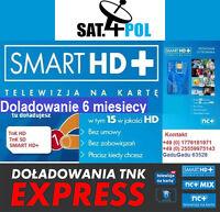 nC+ Smart HD+ doladowanie Aufladung 6M Telewizja Na Kartę NC+ TNK  TVN POLSAT