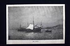 Sul mare Incisione del 1875