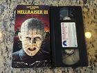 HELLRAISER III 3: HELL ON EARTH OOP VHS 1992 DOUG BRADLEY HORROR CLASSIC PINHEAD