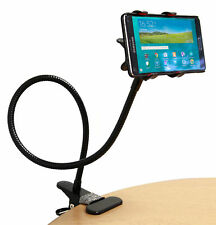 Flexible Two Clip Smart Phone Stand With 360 Ball Mount for Dell Venue 7, 8, Pro