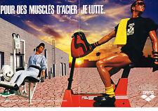 PUBLICITE ADVERTISING  1986   ARENA  vêtements de sports ( 2 pages)