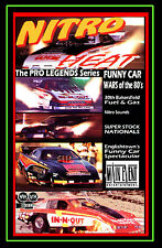 Drag Racing NITRO HEAT, FUNNY CAR Wars of the 80s,a Main Event Entertainment DVD