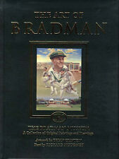 The Art of Bradman: The Bradman Museum, a Collection of Original Paintings and Drawings by Richard Mulvaney, Brian Clinton (Hardback, 2003)