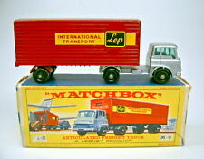 "Major Pack M2B Bedford Truck & Trailer ""LEP"" einfarbig roter Anhänger"