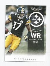 Mike Wallace Steelers 2012 Prestige #154