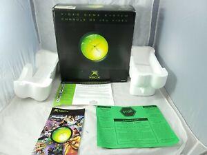 Microsoft Xbox Original Console Box and Styrofoam Only