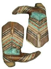 Womens Corral A3381 Antonia BOHO Embroidered Stud Western Boots Size 10 M $280