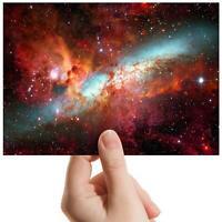 "Nebula Space Star Galaxy Nasa Small Photograph 6""x4"" Art Print Photo Gift #15523"