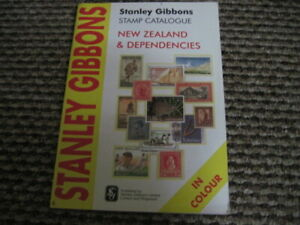 STANLEY GIBBONS COMMONWEALTH STAMP CATALOGUE NEW ZEALAND