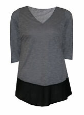 Casual Classic V Neck Tops & Shirts Plus Size for Women