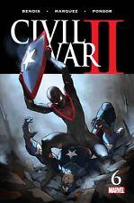 CIVIL WAR II #6 (OF 8) MARVEL COMICS 2016