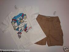 Children's Place Football Shirt & Cargo Shorts Set ~ Size 4T ~ NWT