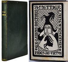 Honoris causa por Andersen, Trianon edición, Berlín, 1930
