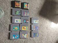 Nintendo NES 13 Game Cartridge Lot Used Mario pacman tom & jerry flintstones