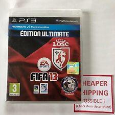 PS3 PlayStation 3 - FIFA 13 Edition Ultimate LILLE LOSC Move RARE !