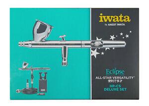 ANEST IWATA MEDEA Airbrush HP-CS Eclipse 0.3mm 1/4oz. 7ml with air hose HP-CS-JP
