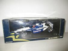WILLIAMS F1 team BMW FW24 MONTOYA 2002 MINICHAMPS SCALA 1:18