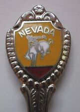 Vintage Nevada Rodeo Cowboy Souvenir Collector Spoon