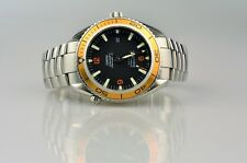 "Omega Seamaster Planet Ocean 600M Co-Axial ""Orange"" 2908.50.38 Box & Papiere"
