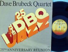 Dave Brubeck Quartet ORIG OZ LP 25th anniversary reunion NM 77 Horizon Jazz Cool